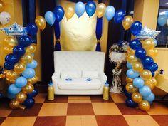 Nikki Balloon Arch with Crowns