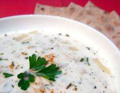 Recipe: Yogurt Barley Soup   The Kitchn