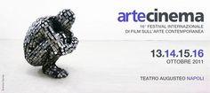 16° Edizione Artecinema - Festival Internazionale di Film sull'Arte Contemporanea - 13/14/15/16 Ottobre 2011 Teatro Augusteo | 16th Edition Artecinema - International Film Festival on Contemporary Art - October 13th 14th 15th 16th 2011 Theatre Augusteo