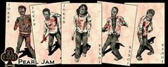 Happy Halloween from the Pearl Jam Zombies. XD
