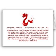 chinese astrology dragon - Google Search