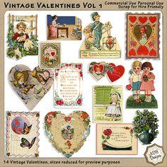 CU Vintage Valentines Vol 1