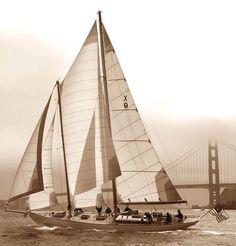 Awesome classic schooner classic yachts pinterest for 68 garden design gaff rigged schooner
