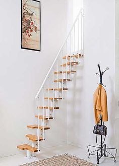 Space-saving staircase by Loft Centre