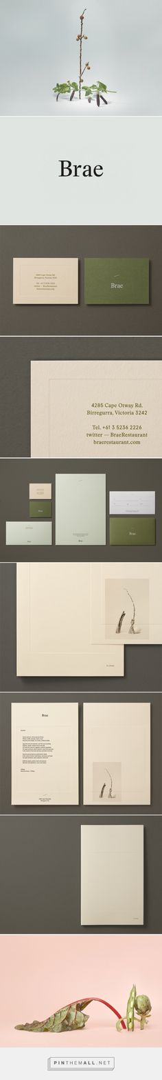 New Logo and Brand Identity for Brae by Studio Round