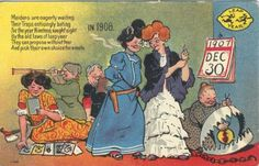 A postcard for Leap Day: when women are 'allowed' to propose.