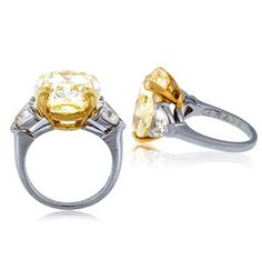 If only the road to Oz was paved with cushion cut fancy yellow diamonds by Graff.