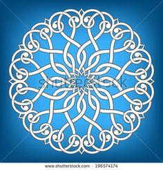 Arabesque pattern. Mandala. Vector Illustration. - stock vector