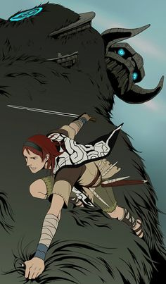 Shadow of the Colossus by *doubleleaf on deviantART