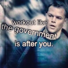 if Jason Bourne can run from the cops ruin 3 cars get shot and jump on a boot in 5 min you can go to work!
