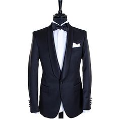 Black tux for weddings - Mond of Copenhagen