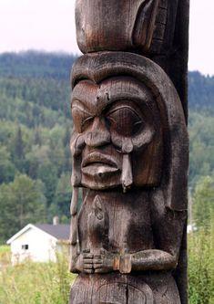 Cathedral Grove | Big Trees & Totem Poles | Skeena River Totem Poles - Kispiox
