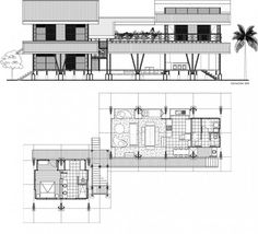 Bamboo structure floor plan google search architecture - Bamboo house design and floor plan ...