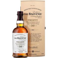 The Balvenie Thirty 30 Year Old Cask Strength Single Malt Scotch Whisky