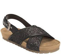 Aerosoles Glitter Sandals - Competition