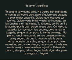 Te Amo. I love you.