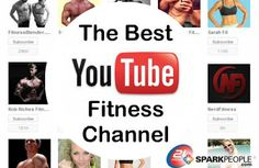 Trainer Jessica Smith shares her favorite YouTube fitness channels for different kinds of workouts you can do at home. via @SparkPeople