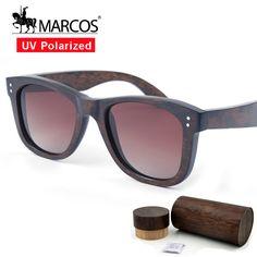4dff45781e Aliexpress.com: Comprar Nueva Llegada MS3012 Marrón Negro Oro Rosa Marca  lentes de sol UV400 Polarizado gafas de Sol de Madera para las mujeres de  ...