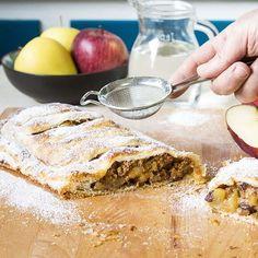 STRUDEL DI MELE CON PASTA SFOGLIA #apple #dolci #dessert