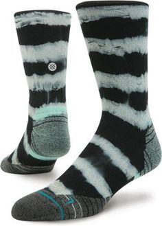 Turn up your running fun with the Stance Momentum crew socks. Moisture-wicking fibers keep your feet cool and dry, while mesh wraps from the top of the feet to the arches to enhance breathability, Available at REI, 100% Satisfaction Guaranteed.