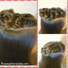 3 favorite half up bun hairstyle tutorials Braided Hairstyles Tutorials, Quick Hairstyles, Hairstyles With Bangs, Pretty Hairstyles, Girl Hairstyles, Knot Hairstyles, Bun Tutorials, Hairdos, Wedding Hairstyles