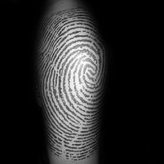 Fingerprint tattoo