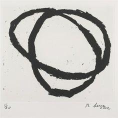 Richard Serra, 18 works: Pls. 1-17, from Venice Notebook 2001