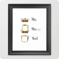 Awesome toilet paper free printable!