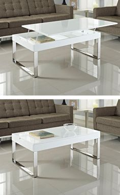 White gloss coffee table cool white high gloss coffee table furry coffee table white white coffee table with natural wood top White Gloss Coffee Table, Lift Up Coffee Table, Coffe Table, Coffee Table With Storage, Modern Coffee Tables, White Coffee, Furniture For Small Spaces, Home Furniture, Cool Tables