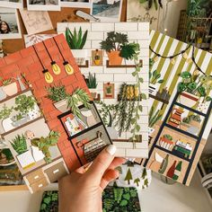 Sure, Tania Lissova's rooms are made of paper, but that doesn't mean I want to visit them any less. The post Carry a Bouquet on Your Finger Thanks to These Tiny Paper Flowers appeared first on Brown Paper Bag. Paper Bag Album, Smash Book Pages, Paper Plants, Paper Crafts Origami, Up Book, Landscape Quilts, Diy Crafts For Gifts, Collaborative Art, Art Lessons Elementary