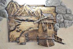 одноклассники 3d Wall Art, Mural Art, Decoration, Art Decor, Plaster Art, 3d Painting, Custom Wall, Hanging Art, Wood Sculpture