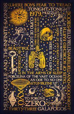 Smashing Pumpkins - Mellon Collie - Dark Typography Art Poster