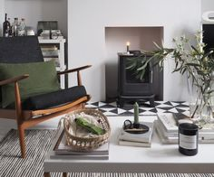 A cosy, grey home office for a freelance creative – my makeover reveal Forest Green Bedrooms, Bedroom Green, Buy Second Hand Furniture, Minimalist Outdoor Furniture, Küchen Design, Interior Design, Buy Living Room Furniture, Hm Home, Minimalist Kitchen