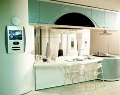 Pareti Della Cucina Verdi : Immagini invitanti di pareti della cucina craftsman furniture