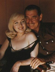 MM & Clark Gable The Misfits 1961