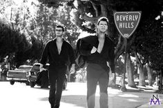 Last November 2010 I shot a Beverly Hills/Hollywood editorial featuring the incredibly handsome model brothers, Aris and Demetris Patsalos. Originally from the Greek island of Cyprus, they live part time in Los Angeles and lucky me I had an opportunity to work with them before they returned to Europe. http://natalieminhphotography.com' Great!!!