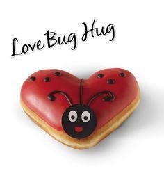 Krispy Kreme Valentine's Doughnut! Love Krispy Kreme, my favourite doughnuts!