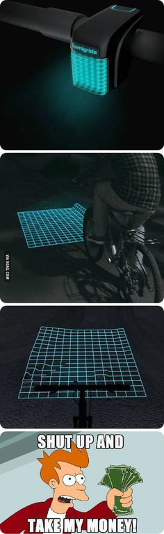 As a biker, this could be amazing.