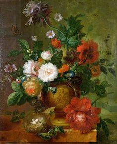 Jan van Huysum' s art work