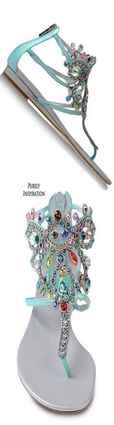 Rene' Caovilla Sandals Women's Fashion | Purely Inspiration