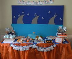 Great web site for party theme ideas!!! Browse Parties - Boy Birthday,Sharks | Catch My Party