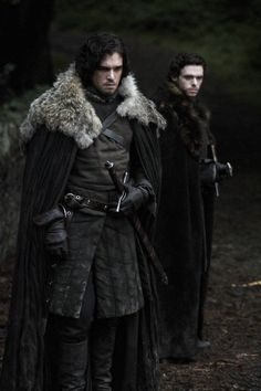 Robb Stark & Jon Snow - Game of Thrones