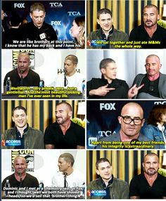 I would totally ship them (not as brothers of Prison Break but as their real life person)