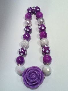 Gumball necklace inspired by Sophia the first by ddbrown83 on Etsy