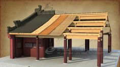 How did a Chinese Traditional house be built (BY 3D max) 中国传统建筑建造过程
