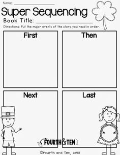FREE St. Patrick's Day Graphic Organizers!
