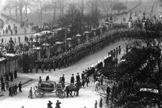 1952 - Funeral procession of King George VI