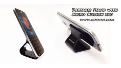 Portable mini stand for smartphone