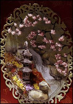 Oriental Blossoms by Flower Soft