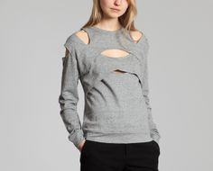 As I Am Grey Mottled Sweater on sale at L'Exception